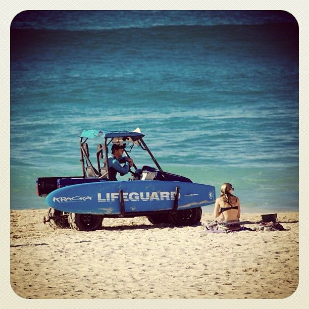Tough Gig at Bondi #BondiRescue #atbondi #lifeguard #beach #sydney #australia #surf #shore