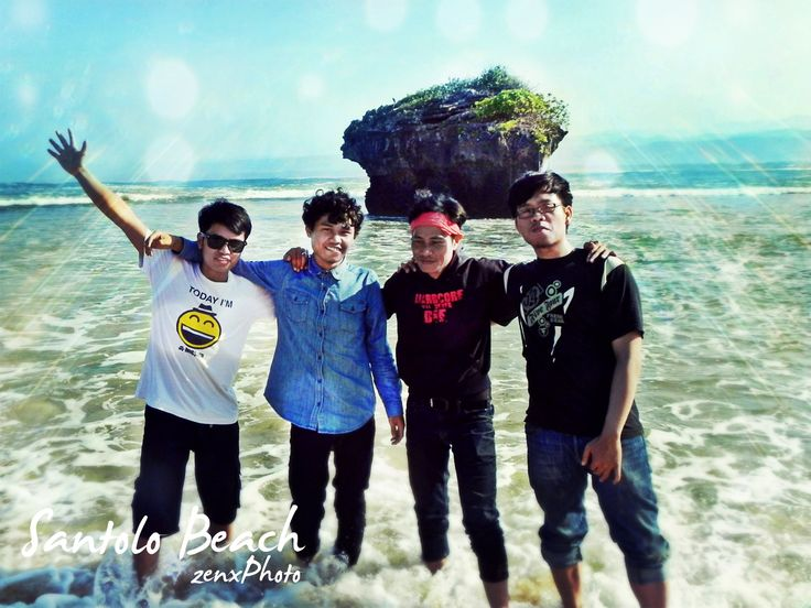 beach pantai indah indonesia liburan
