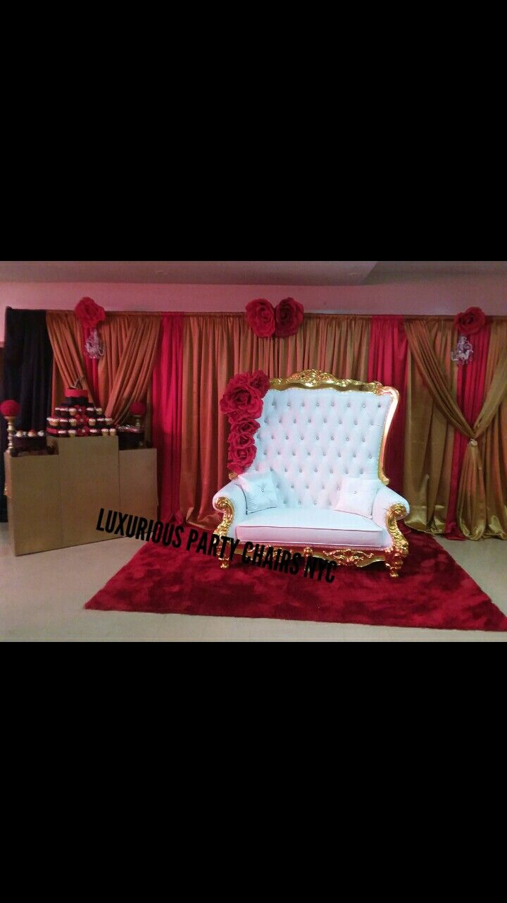 Luxurious Party Chairs Nyc Rentals We Can Create Any Theme For Any Event We Rent Sweet 16 Party Planning Arts And Crafts Furniture Party Chairs