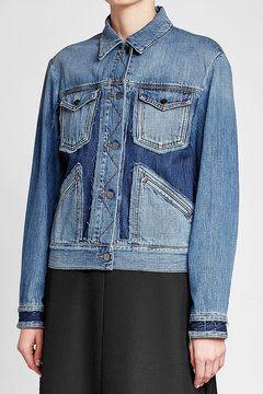 fdb4a5f17 Denim Jacket | W02-2018-Bekleidung | Denim, Denim jacket fashion ...