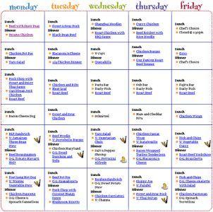 The 25+ Best Weekly Menu Template Ideas On Pinterest   Menu Planners, Meal  Planner Template And Menu Planner Printable