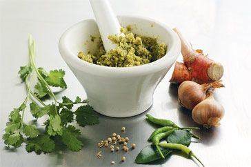 Recipe Thai Green Curry Paste by kylie alexander - Recipe of category Main…