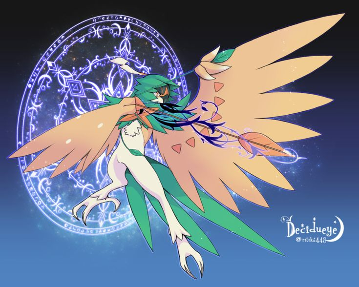 Decidueye..... this one's better