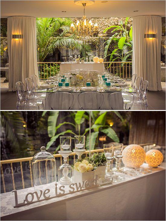 reception decor @weddingchicks