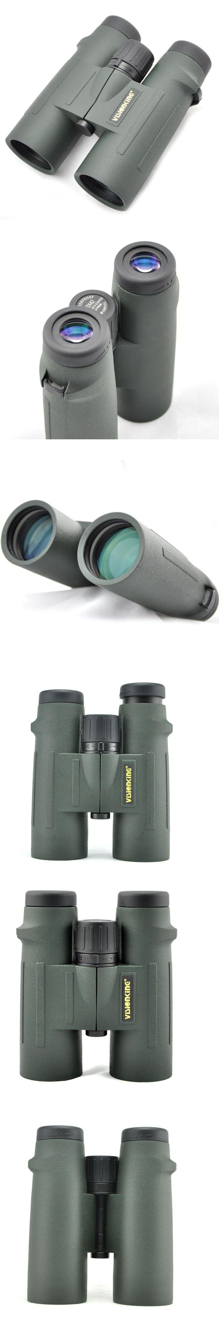 Visionking 10x42 Hunting Binocular Waterproof  Bak4 Fogproof Binoculars Camping Professional Telescope Travelling Binoculars