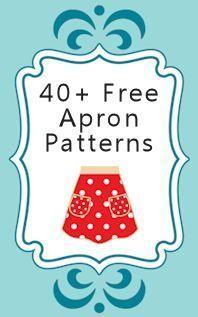 Free Apron Patterns & Tutorials