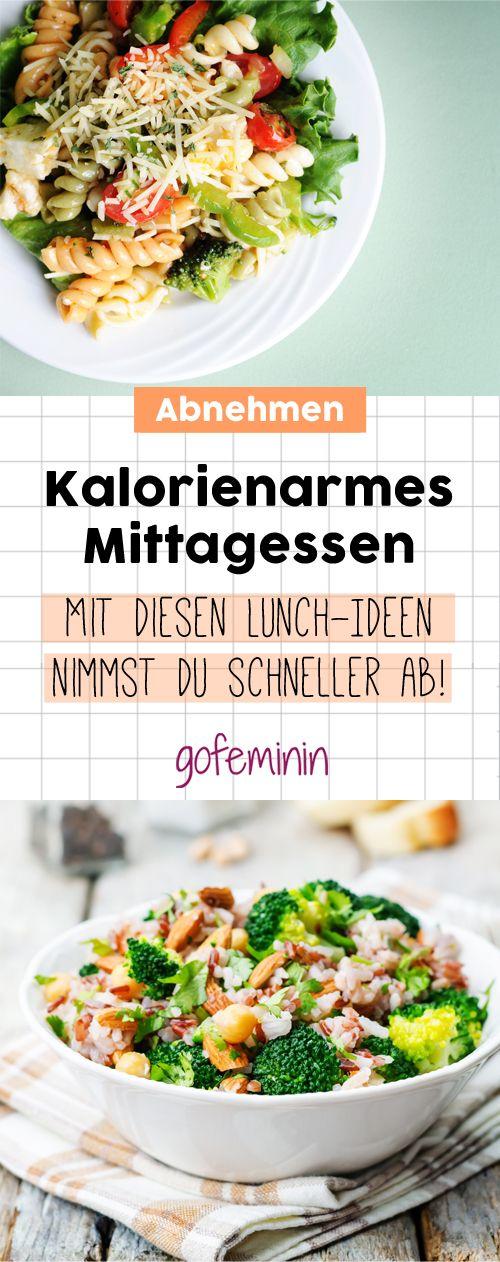Kalorienarmes Mittagessen: Die besten Ideen zum Abnehmen