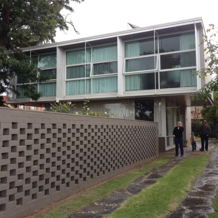 Walkley House, designed by Robin Boyd, part of Open House Adelaide. I lived in a Robin Boyd designed house that my parents built in the 1960's