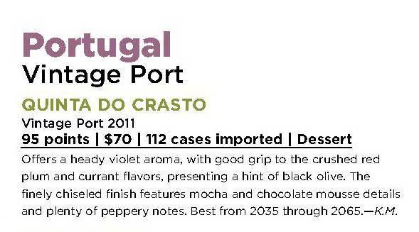 #QuintadoCrasto #VintagePort 2011 - 95 POINTS on #WineSpectator !