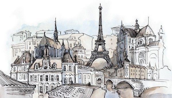 """Изображения для винтажного декора дверей (см. видео Декор двери """"Мечты о Париже"""" на данной доске).  С уважением, Оксана Ловен"""
