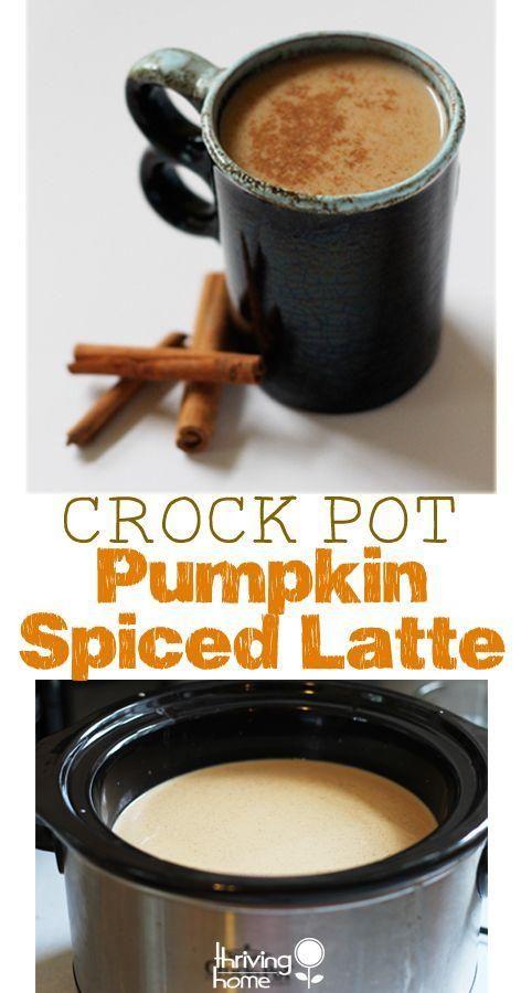 Crock Pot Pumpkin Spiced Latte - Joybx