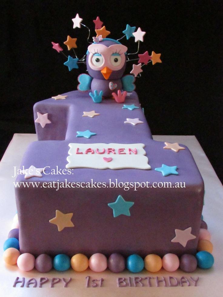 Hootabelle cake,