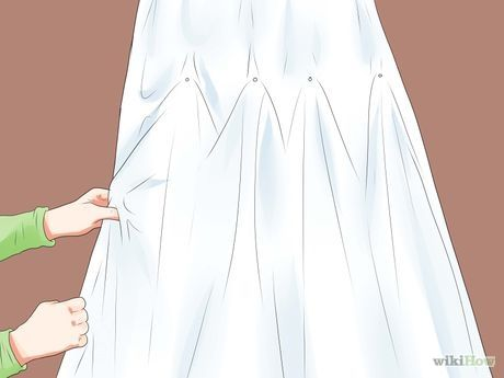 Image titled Bustle a Wedding Dress Step 13