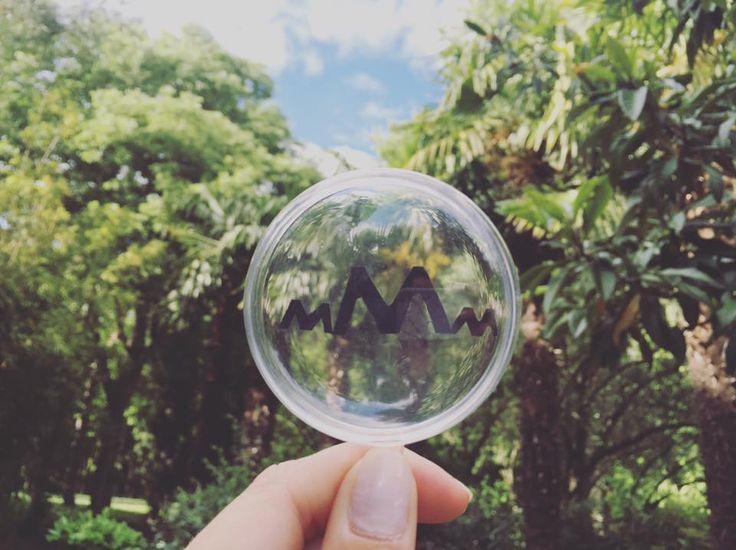 Notre bulle au milieu des palmiers... Merci Jeanne !