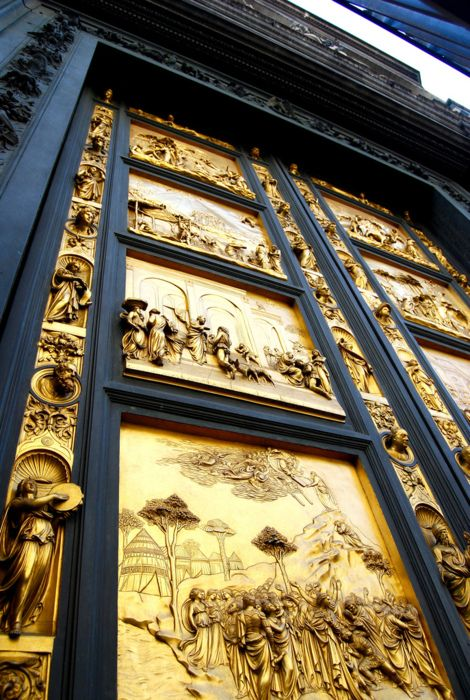 Gates of Paradise, Florence Baptistery by Lorenzo Ghiberti