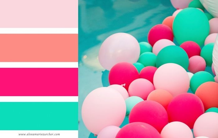 He and I | lifestyle blog: color palettes | summer edition