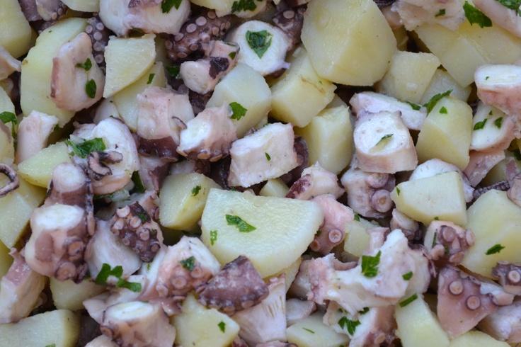 Insalata di polpo e patate - Venezia Festa del Redentore