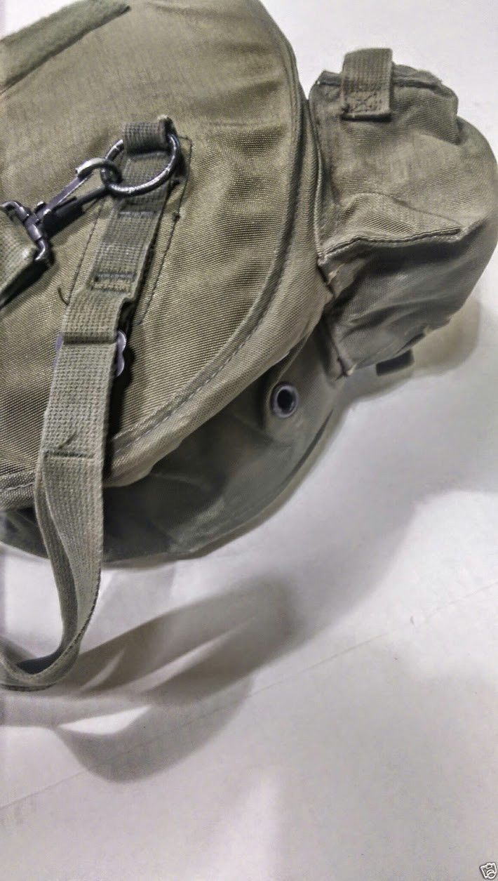 Made in USA USGI M40 Gas Mask Carrier with Shoulder Strap | US Army Gear