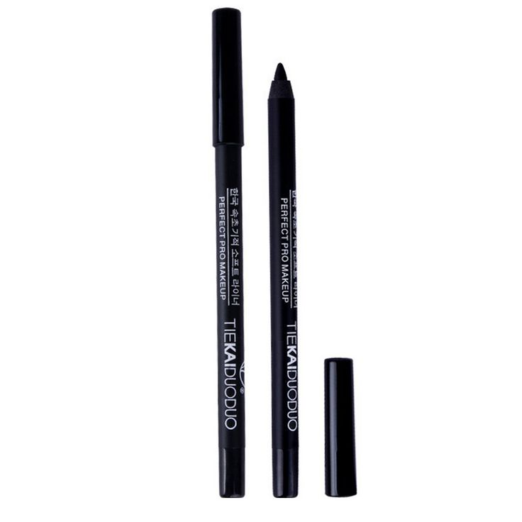 Gel Eyeliner Pen-Luismia Black Waterproof Essence Eye Liner Pencil- Makeup Colloid Eyeliner Crayon All Day -Oil Free Eyeliner Marker. High capability of WATERPROOF, Luismia Essence Eyeliner Pencil can make durable makeup after longtime working. ULTRA BLACK make your eye sparkle and charming, easy to make eyeliner wing. Eyeliner pen can be sharpened by a sharpener, don't use knife to sharp the pen because the pen is so soft.And don't embed on the eyeliner pen bottom avoid blocking the cap....