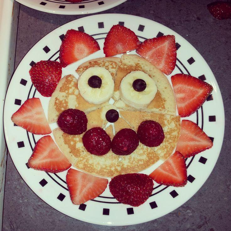 Sunshine Pancake.