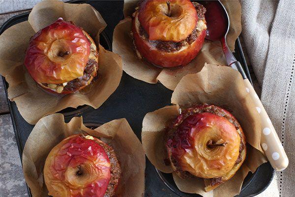 Stuffed apple crumbles – Recipes – Bite
