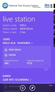 Indian Railways Launches The National Train Enquiry System (NTES) App screenshot 3