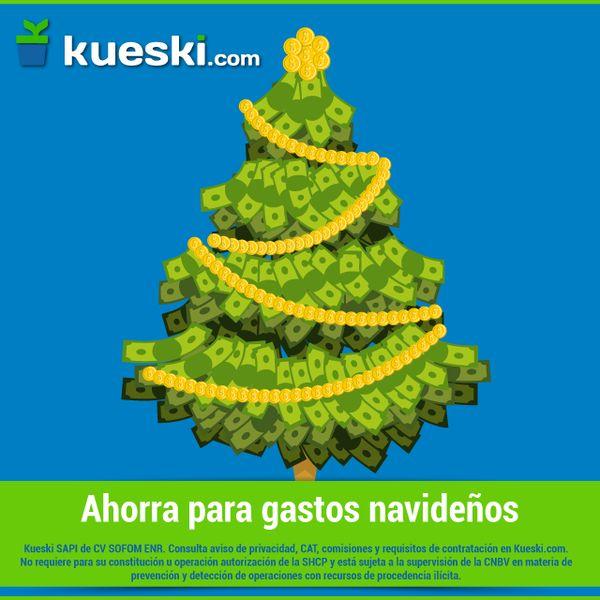 Comienza la cuenta regresiva para navidad, ¿cómo va ese cochinito?  #KueskiTips #Navidad2015