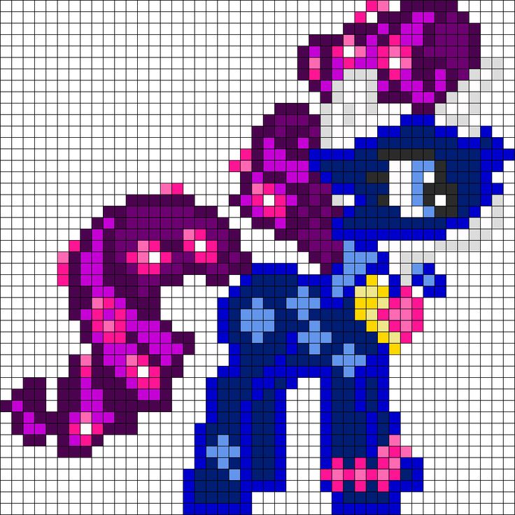 10 Best Mlp Pixel Art Templates Images On Pinterest Hama