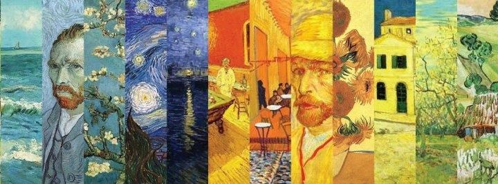 Sample Fakebook page for Van Gogh research project