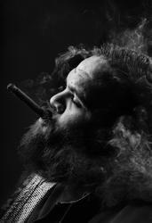 SMH/ARTS.  Portrait of Australian Rapper Adam Briggs AKA rapper Briggs.   He is…