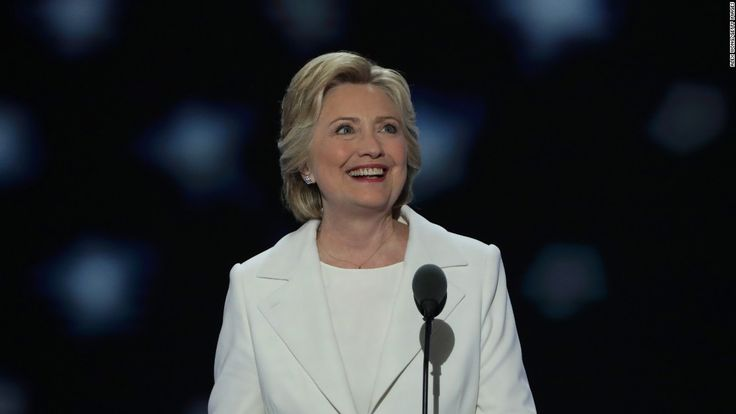 Hillary Clinton is making sure the hundreds of thousands of participants in the Women's Marches held across the globe know she is on their side.