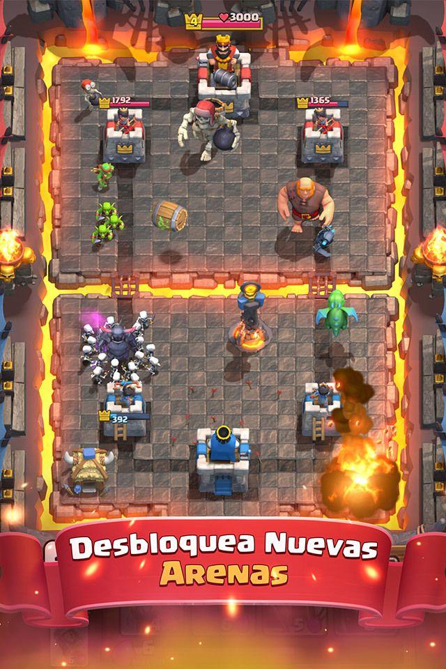 Información sobre el juego | Clash Royale