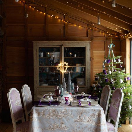 Christmas dining room decorating ideas by Country Homes & Interiors on Roomenvy