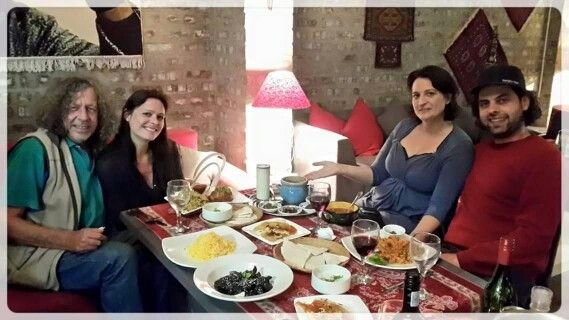 luscious Persian dishes ...