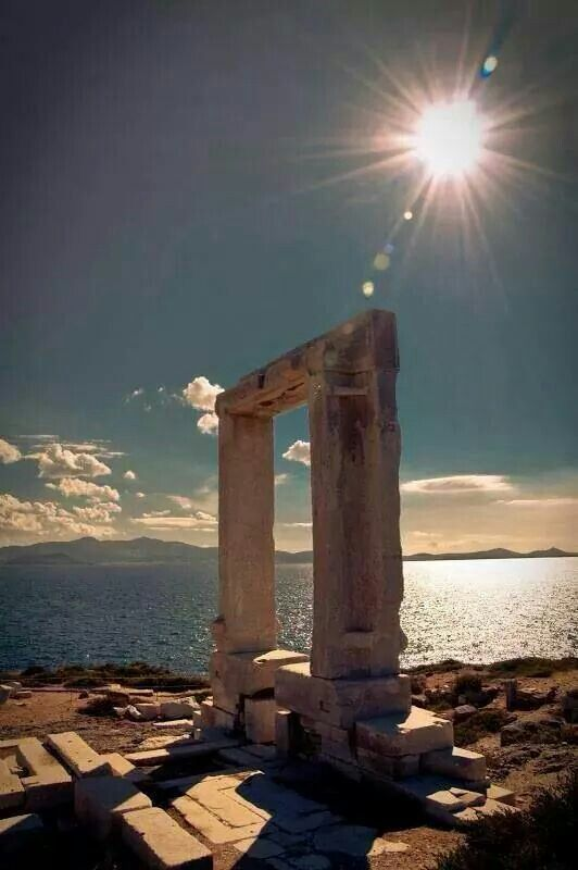 Portara... Naxos in November ♡