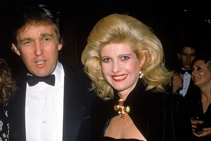 Ivana Trump once accused the real-estate tycoon of 'rape,' although she later clarified: not in the 'criminal sense.'