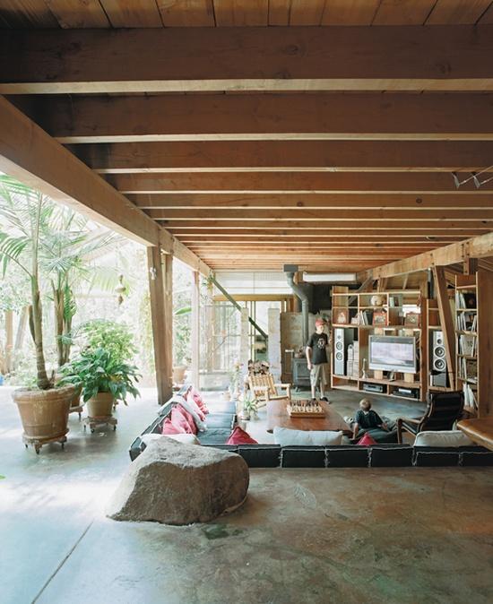 Sunken Living Room Conversation Pit