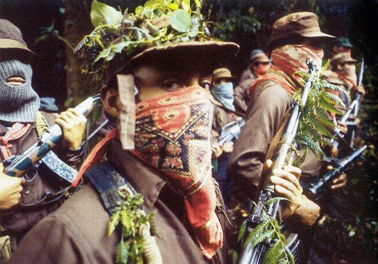 dante bucio: combatientes en la selva lacandona (chiapas, 1994)