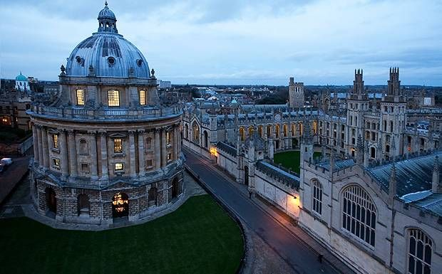 Oxford, England; it's what I imagine the world of Harry Potter to be like