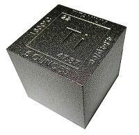 "5 Ounce Titanium 1.25"" Cubit Square .999 Fine"