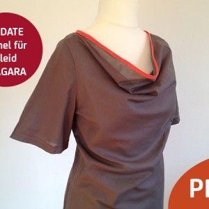 Kleid NIAGARA – Update Ärmel