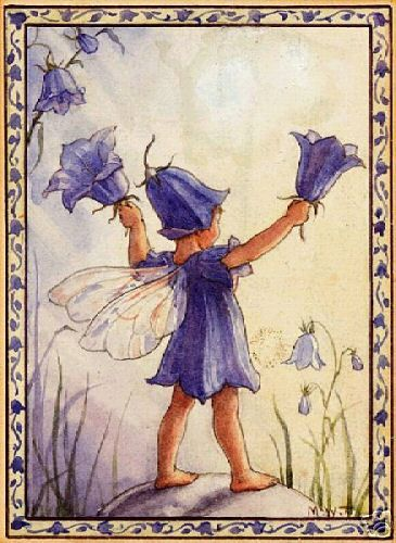 Margaret Tarrant This is a harebell, not a bluebell.