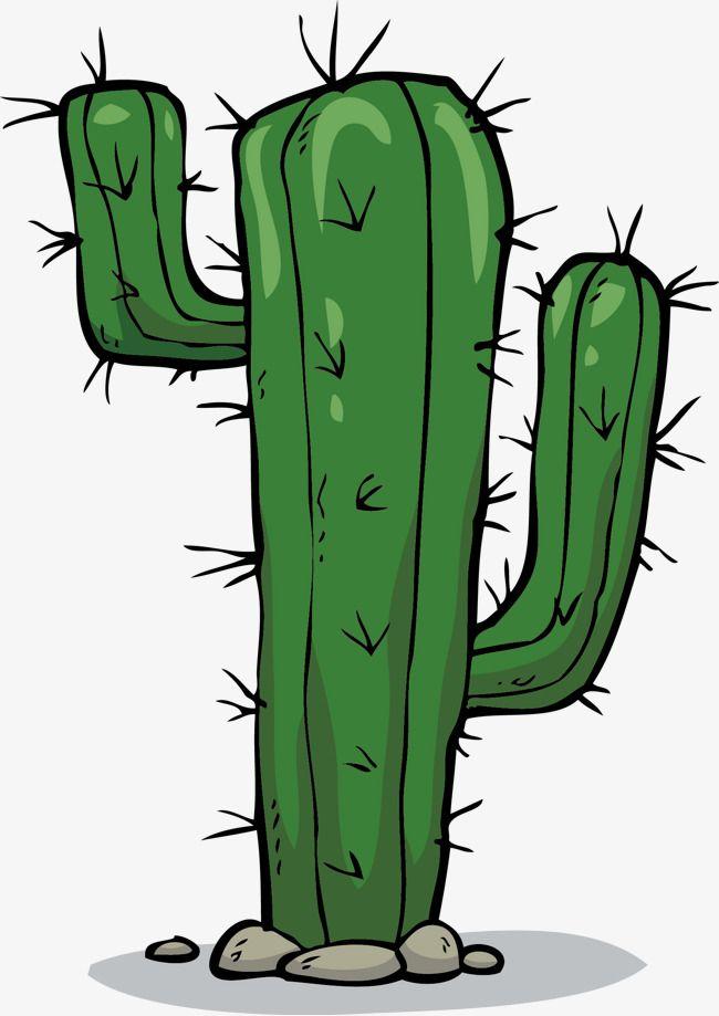 Картинки кактусов мультяшные