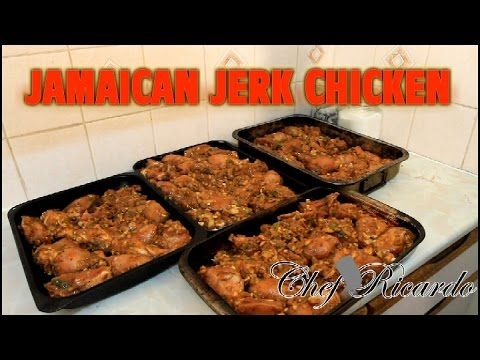 Jamaican Jerk Chicken For Jamaican Independence Day Chef Ricardo Cooking - YouTube
