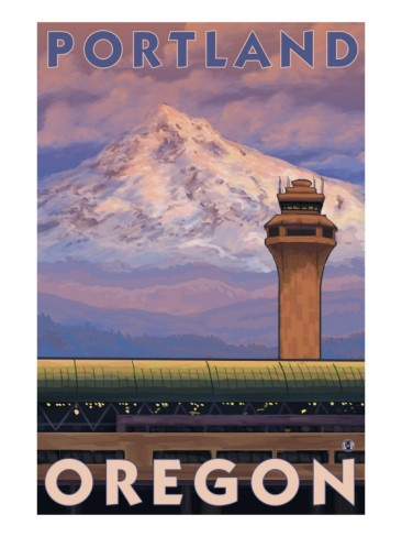 Portland, Oregon, Airport View