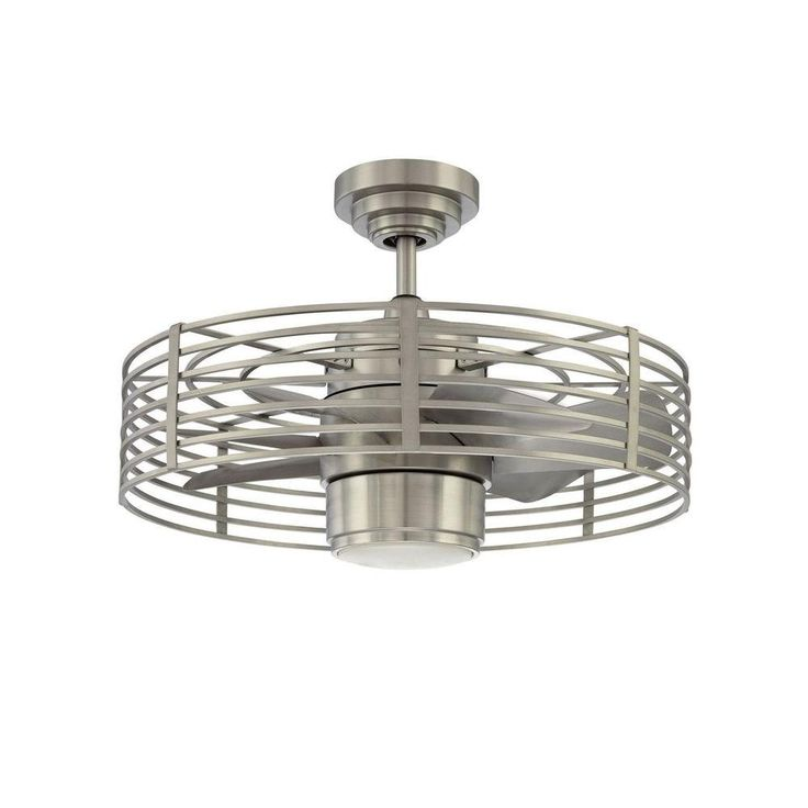 Filament Design Cassiopeia 23 in. Satin Nickel Indoor Ceiling Fan different bulb type?
