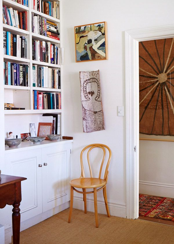 The Sydney home of artist Cressida Campbell. Photo -Sean Fennessy, production / styling Lucy Feagins for thedesignfiles.net
