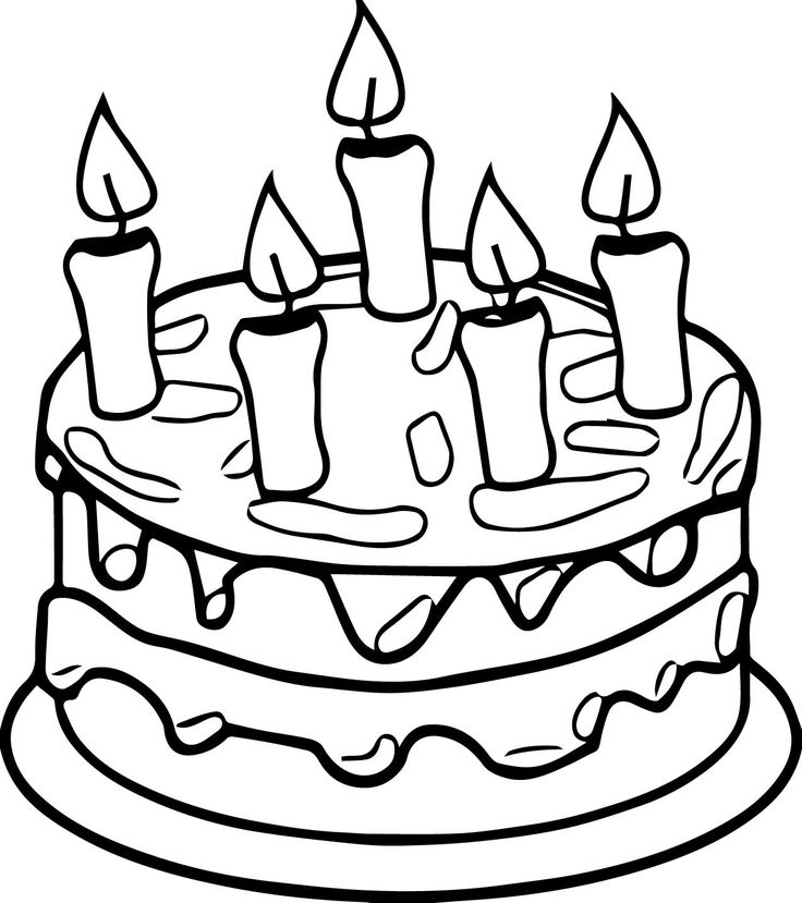1126 Best Cakes And Ice Cream Images On Pinterest Ice Coloring Pages Cakes