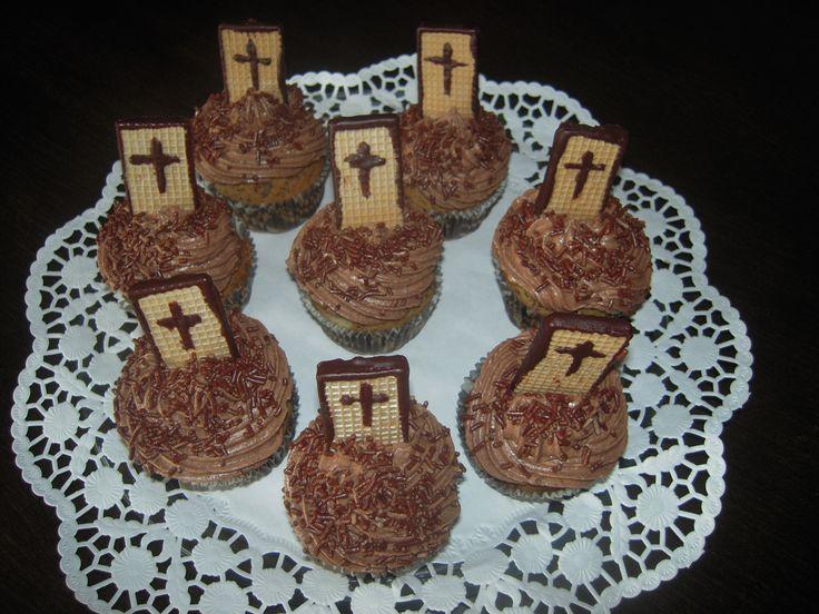 čokoládové muffinky