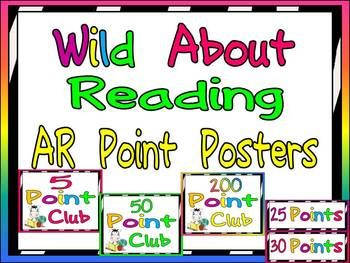 AR Point Tracking Display:)  Wild About Reading!! $